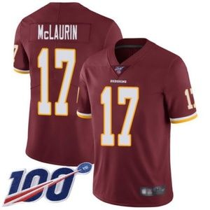 Washington Redskins Terry McLaurin 100th Jersey